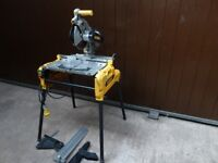 DeWalt DW743N-LX Flip Over / Mitre Saw with Legs - 110v