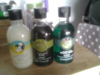 Body Shop....shower gels...250ml