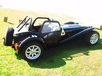 Caterham 7 supersport.Superb condition.All black paintwork,seats and carbon fibre.Beautiful !