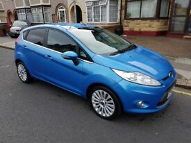 Ford Fiesta 1.6 TDCI Titanium, 5 Door Hatchback 2010, Diesel Manual, Only 63274 miles. £3995
