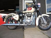 Brand New - Royal Enfield Classic 500 EFI - £4699. Finance subject to status, 2 Years Warranty