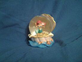 Disney Little Mermaid Snowglobe - Ideal Christmas Gift