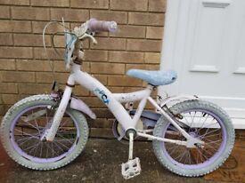 Girls bike for sake