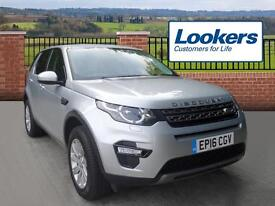 Land Rover Discovery Sport TD4 SE TECH (silver) 2016-08-10