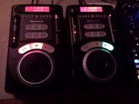 2 x Numark Axis 9 CDJ, Numark M3 Mixer, Carry Case & 2 x Alesis M1 Active 520 Speakers