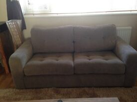 3 seater, love chair and stool
