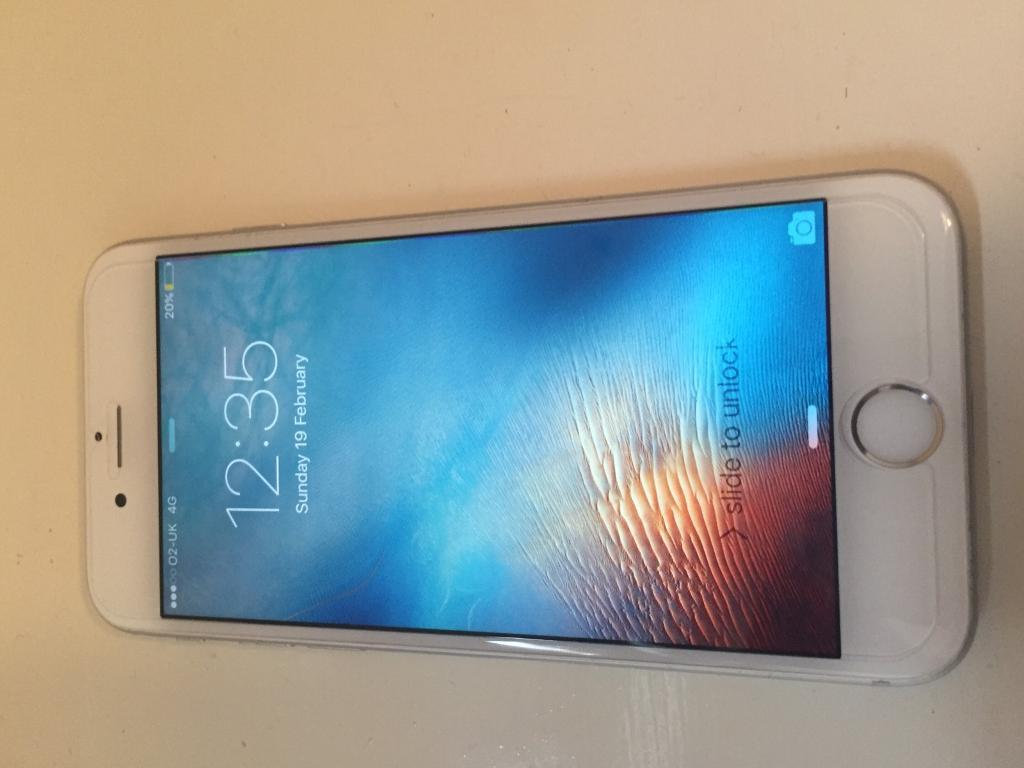 iPhone 6s silver 64gb 02/giffgaff and tesco mobilein Stoke on Trent, StaffordshireGumtree - IPhone 6s silver 64gb 02/giffgaff and Tesco mobile Here I have a 6s massive 64gb memory in very good condition Fully working comes with charger USB and a free temper glass so screen can not be broken if dropped Can unlock to any uk network for...