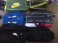 6x bags nike , adidas , tommy hilfigure, puma ralph lauren