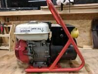Honda 110v site generator built by Haverhill (HG) generators for power tools