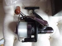 TFGear Max Power Big Pit Fixed Spool Reel - carp , course, brand new in box loaded with 12lb line