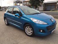 Peugeot 207 Active 1.4 -2012 Manual 5 Door -- 34000 Miles --- alternate4 corsa micra yaris polo clio