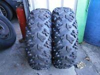 2 QUAD tyres