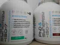 PhD synergy x2 protein supplement bundle