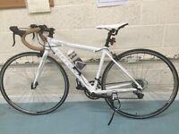Carrera Zelos ladies road bike, 3 times. Quick release wheels,