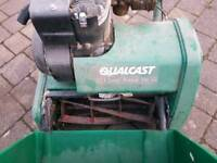 QUALCAST PETROL CYLINDER SELF PROPELLED LAWNMOWER