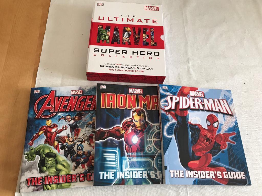 Marvel book setin Cambridge, CambridgeshireGumtree - Marvel book set, never been read and includes the original poster collection cherry Hinton