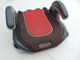 Graco childs booster seat for 15 to 36kg weight.