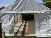 4M x 6M White Marquee, Tent, Gazebo for Rent/Hire - Full Installation Included