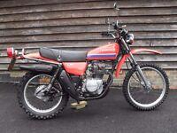 Kawasaki KL 250 A1 Rare UK Classic bike in superb and original condition