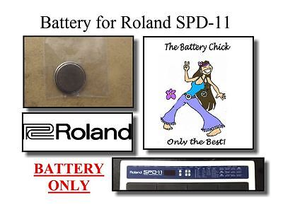 (Battery for Roland SPD-11 Percussion Pad - Internal Memory Replacement Battery)