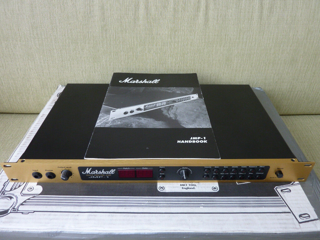 Marshall JMP-1 Valve Midi Guitar Pre-Amp in excellent condition and full working order