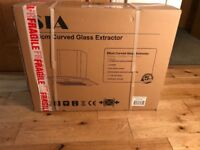 Never opened curved glass extractor