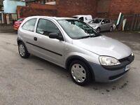 For Sale 2002 Vauxhall Corsa Club 1.0 3 door