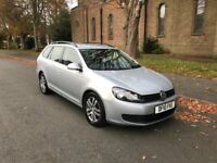 VOLKSWAGEN GOLF 1.6 TDI SE S-A....ESTATE, 2010 (10 PLATE)