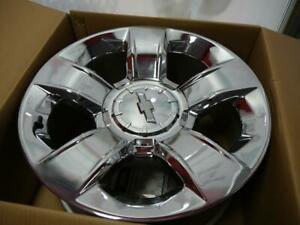 20 INCH BRAND NEW TAKE OFF RIMS - CHEVROLET TAHOE - WITH TPMS