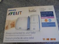 PHILIPS AVENT DECT BABY MONITOR SCD 510