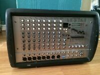 400W 10channel powered mixer + 2 active Warfedale PA Speakers