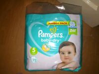 Pampers Unopened