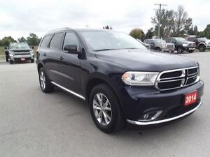 2014 Dodge Durango Limited,AWD,DVD,NAVI,LEATHER,LOADED!!