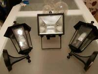 Latern lights and spot light new never used but tested