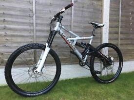 Cannondale Gemini full suspension Enduro/Downhill Bike, LIKE NEW, HIGH SPEC, FOX