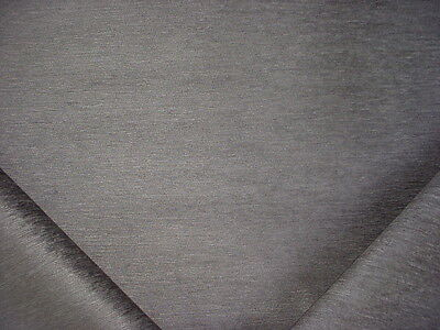 8-3/4Y BEAUTIFUL KRAVET SMART 32877 GRAPHITE CHENILLE UPHOLSTERY FABRIC