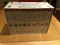 Beatrix Potter Limited Edition Boxed Set VHS Animations x 9