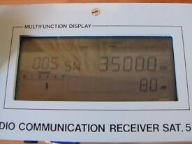 Radio Communications Receiver SAT 5 in nice working condition
