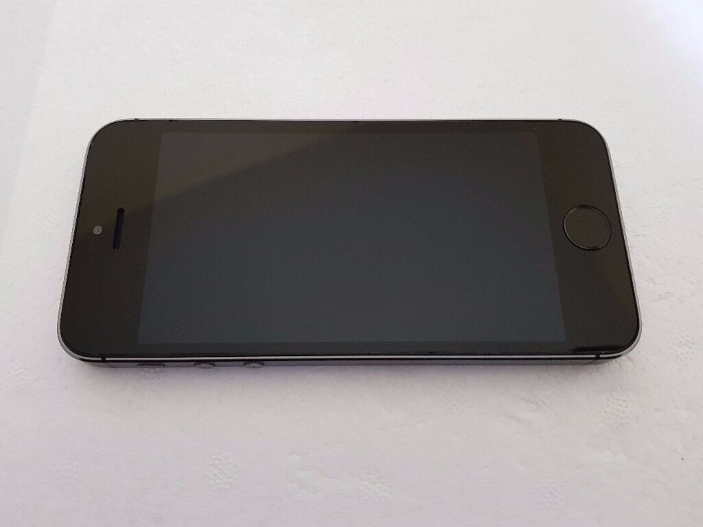 Apple iPhone 5s 16GB Space grey Vodafone UK Good Condition with Fingerprint Sensor Fault