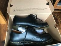 Dr Martens black leather shoes, size 10
