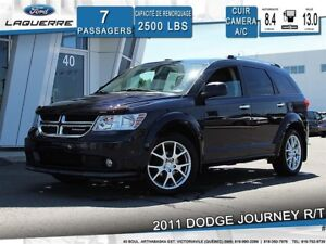 2011 Dodge Journey R/T**AWD*7 PLACES*CUIR*CAMERA*CRUISE*A/C**