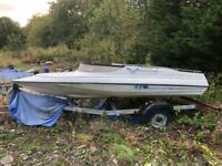 Project boat and roller coaster boat trailers
