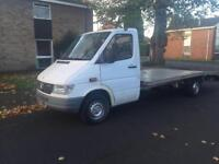 1997 MERCEDES SPRINTER 308D LWB RECOVERY TRUCK BULLET PROOF ENGINE LOW MILEAGE