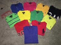 POLO RALPH LAUREN BOYS TOPS AGE 14-16YRS LARGE £10 EACH