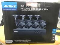 4 camera complete CCTV System BRAND NEW