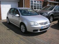 (2007) VW GOLF MATCH 1.6 FSI MET/SILVER 5 DOOR (ONE OWNER 98000 MILES FSH ABSOLUTELY IMMACULATE)
