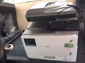 W6 8RA Ricoh Aficio MP C305SPF, Printer, Copier, Fax, Scanner / Excellent Condition