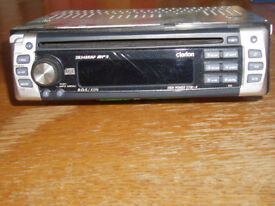 Clarion car CD Radio player: model DB348RMP