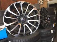 "Land Rover Range Rover Sport Vogue SVR 22"" Autobiography Alloy Wheels"