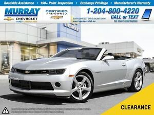 2015 Chevrolet Camaro LT 2LT *Leather Heated Seats, Remote Start